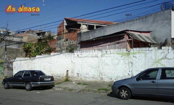 Terreno À Venda, 261 M² Por R$ 250.000 - Bela Vista - Guarulhos/sp - Te0015