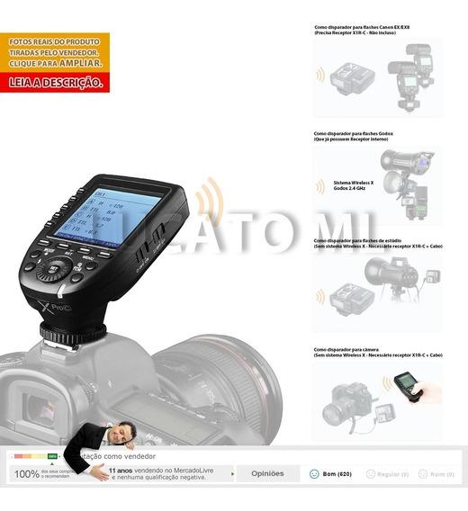 Godox Xproc Radio Flash Transmissor Canon Ettl Wireless X Ap