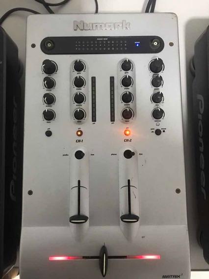 Vendo Kit Cdj-1000 Mk3 + Mixer Numark Matrix 2.