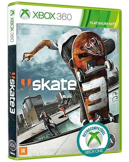 Skate 3 - Xbox 360 - Mídia Física, Lacrada E Original