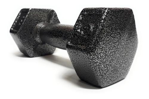 Mancuerna De Metal 5 Kg 11 Lbs Irrompible A Caidas
