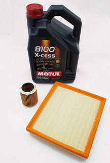 Kit Filtros+aceite Motul 8100 Bmw Serie 1 (f20) 118i