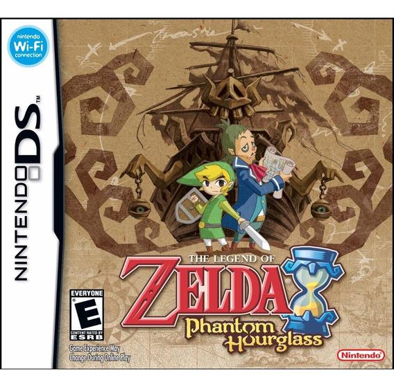 Zelda Phantom Hourglass Ds 3ds E New 3ds Americano Lacrado