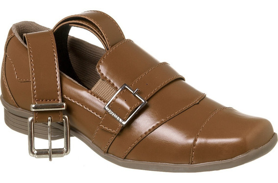 Sapato Social Com Cinto Infantil Menino Redmax A/b929-603