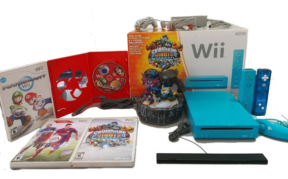 Consola Nintendo Wii Edición Skylanders Giants + 3 Juegos