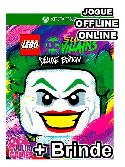 Lego Dc Super Villans Deluxe Edition Xbox One + Brinde