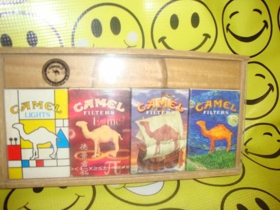 Camel Exhibidor Madera Acrilico Pregunta Por Envio Gratis