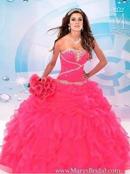Hermoso Vestido De Xv Años Totalmente Nuevo Y En Remate !!!