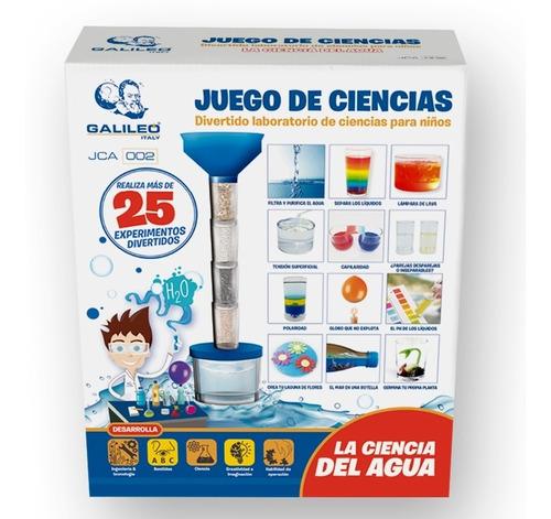 Juego De Ciencia La Ciencia Del Agua Galileo Jca-002 Edu