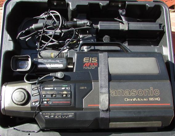 Linda Filmadora Vhs Panasonic Afx10 Ccd (usada Seminova)