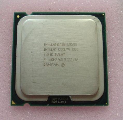 Processador Core2 Duo E8500 Oem 3.16ghz