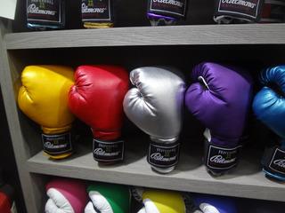 Par Guantes De Box Brilloso 8 Colores Palomares Genuino Fpx
