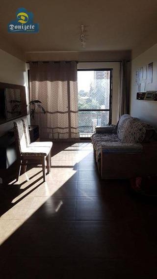 Apartamento Com 1 Dormitório À Venda, 112 M² Por R$ 636.000,01 - Campestre - Santo André/sp - Ap7541