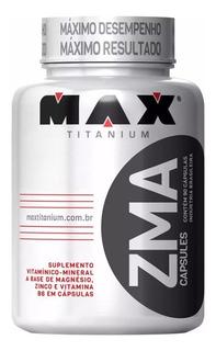 Pré Hormonal Testosterona Zma 90caps - Max Titanium