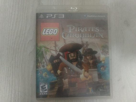 Jogo Ps3 Lego Pirates Of The Caribbean The Video Game