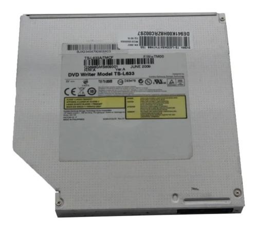 Imagem 1 de 4 de Gravador Dvd Notebook Toshiba Samsung Hp Ts-l633