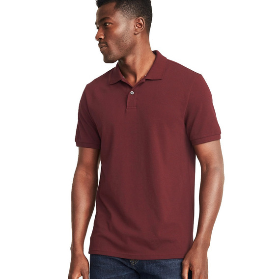 Playera Polo Hombre Manga Corta Camisa Flex Stretch Old Navy