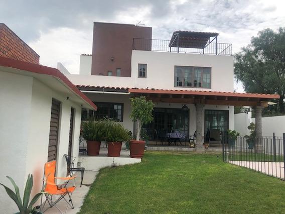 San Miguel De Allende: Hermosa Casa En Venta