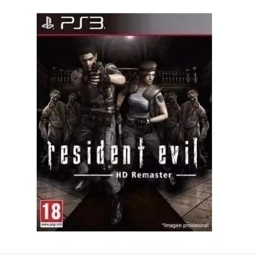 Resident Evil 1- Hd- Remake Remastered - Ps3- Psn- Digital