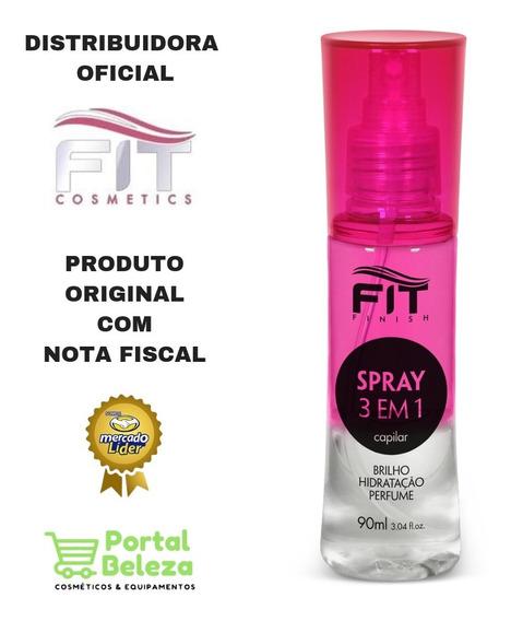 Spray Capilar 3em1 Brilho Hidratação E Perfume Fit Cosmetics