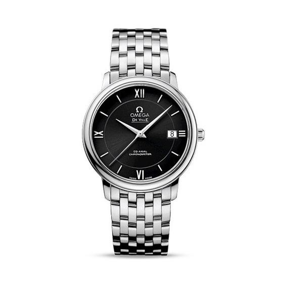 Reloj Omega Deville Automático Negro 42410372001001