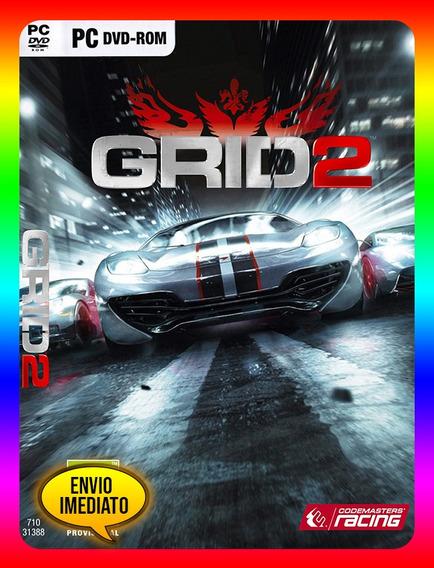 Grid 2 Reloaded Edition Pc - Steam Key (envio Já)