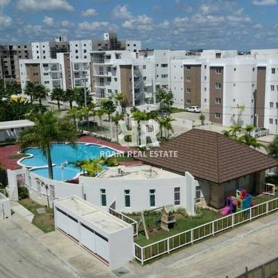 Apartamento Amueblado En Tecasa Dorado - Ar0001