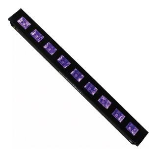 Barra Uv Led 9 X 5w Ultravioleta Luz Negra Disco