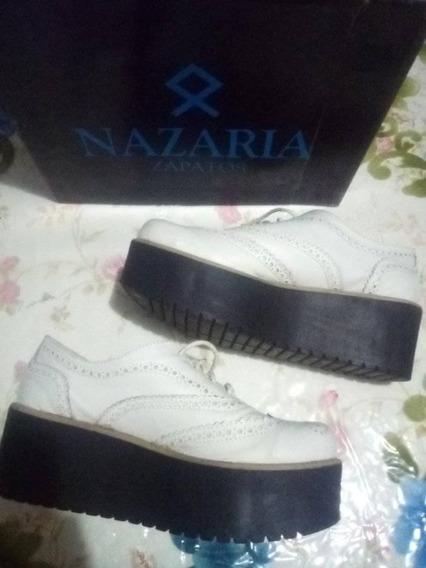 Zapatos Con Plataforma Nazaria Originales