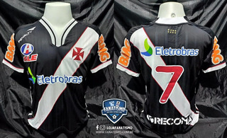 Camisa Vasco Oficial I Penalty 2011 #7 Eder Luis Jogo Único