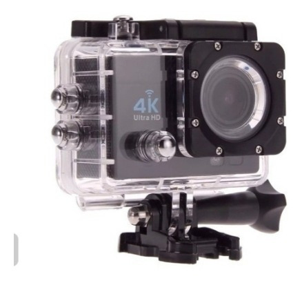 Câmera Action Go Cam Pro Sports Ultra 4k Wifi 1018p + Boia