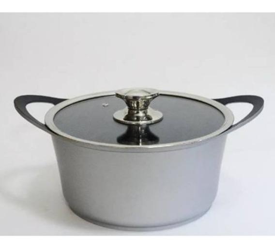 Cacerola Fundicion Aluminio Silver 28cm - La Plata