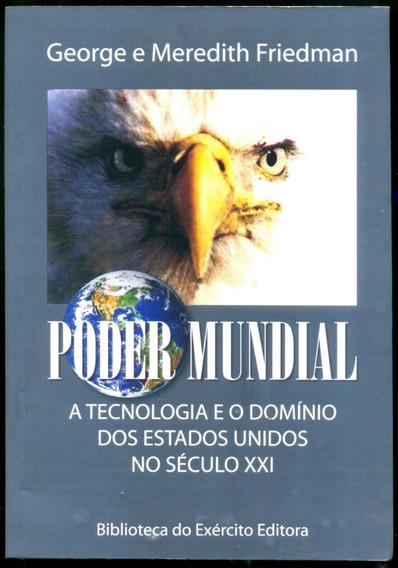 Poder Mundial A Tecnologia E O Domínio Dos Eua Leia + Livros