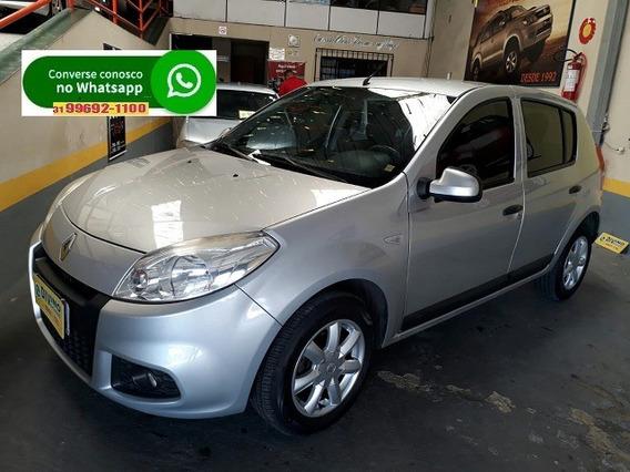 Renault Sandero Expression 1.6 Hi-power 5p Cinza