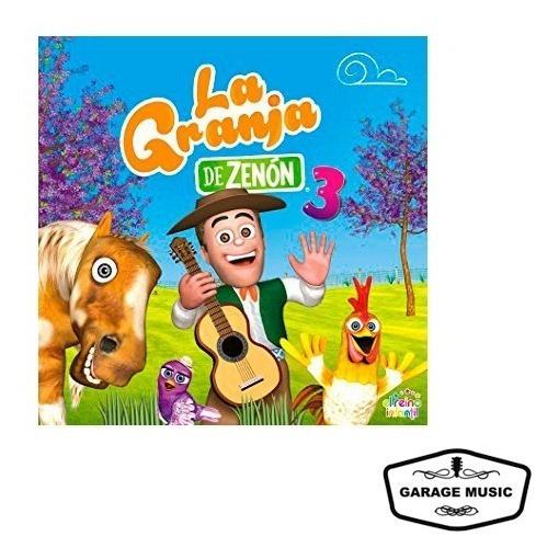 Cd Las Canciones De La Granja De Zenon Vol. 3 - Ya Musica