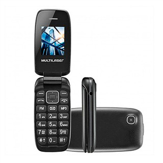 Telefone Multilaser Flip Up 2 Chips Original Barato E Aqui!