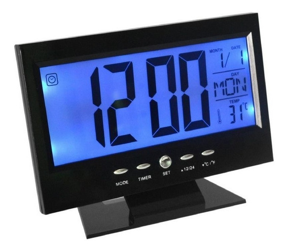 Reloj Despertador Digital Pantalla Lcd Led Ds-8082