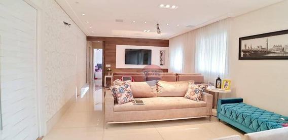 Apartamento Com 4 Dormitórios À Venda, 180 M² Por R$ 1.280.000 - Nova Petrópolis - São Bernardo Do Campo/sp - Ap3826