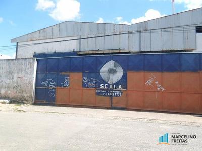 Galpão Comercial À Venda, Barra Do Ceará, Fortaleza. - Codigo: Ga0031 - Ga0031