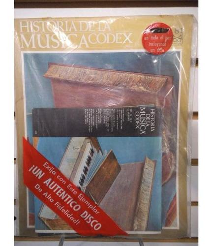 Imagen 1 de 1 de Historia De La Musica Codex 81 Fasiculo Y Disco Lp Acetato