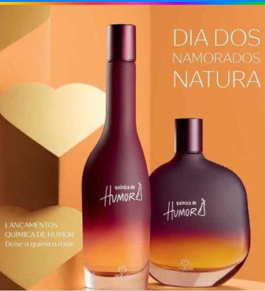 Combo Natura 2perfumes Química De Humor Masculino E Feminino