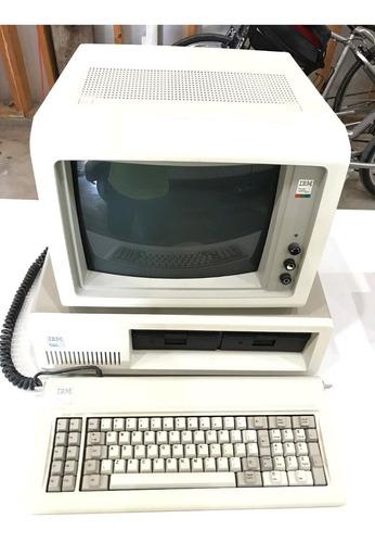 Imagem 1 de 10 de Super Raro - Ibm Pc-xt 5160, Monitor Colorido Ibm 5153