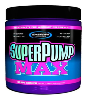 Superpump Max Gaspari Super Pump 480g Pré Treino Importado
