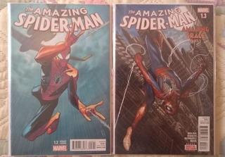 The Amazing Spider-man 1.2 Y 1.3 Marvel Now En Ingles