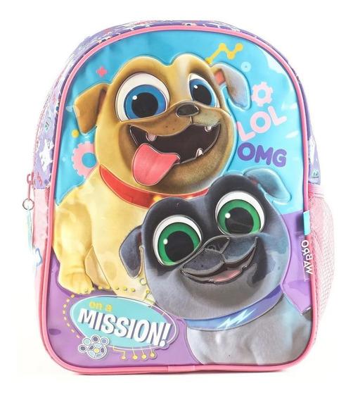 Mochila Puppy Dogs Espalda Jardin 12 PuLG. Wabro Original!!!