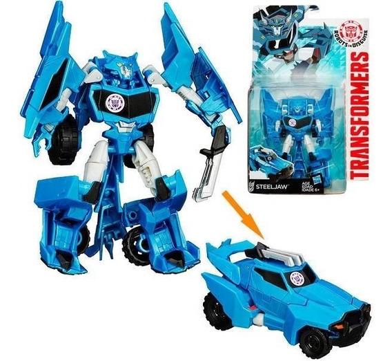 Oferta Transformers Disguise Warrior Steeljaw 9 Pasos