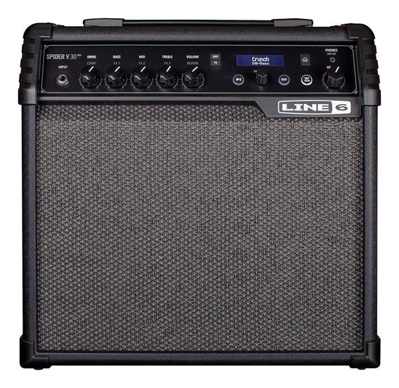 Ftm Line 6 Spider V 30 - Amplificador Combo Guitarra Fxs - 1