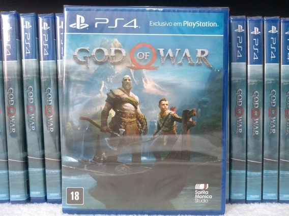 God Of War Ps4 Mídia Física Lacrado
