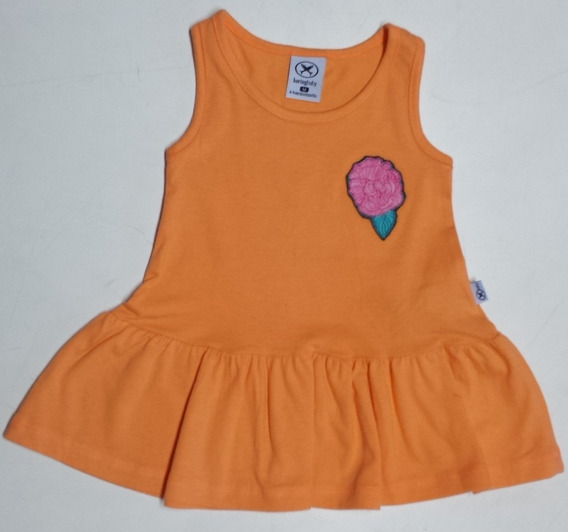 Vestido Bebê Hering - Medidas Logo Abaixo - Cod 2233