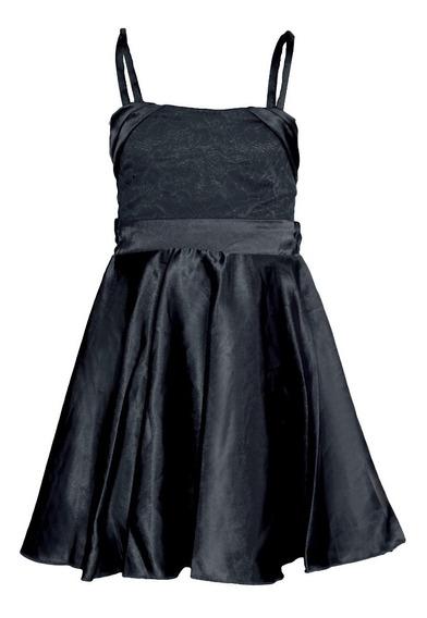 Vestido Nena Con Falda De Gasa Brishka, N-0047